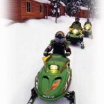 maine snowmobiling